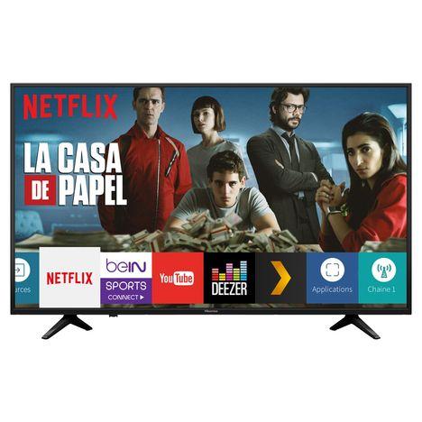 """TV 58"""" Hisense H58A6100 - LED, 4K Ultra HD, Smart TV (via ODR de 50€)"""