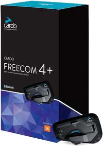 Lot de 2 systèmes de communication pour motards Cardo Freecom 4+ Duo
