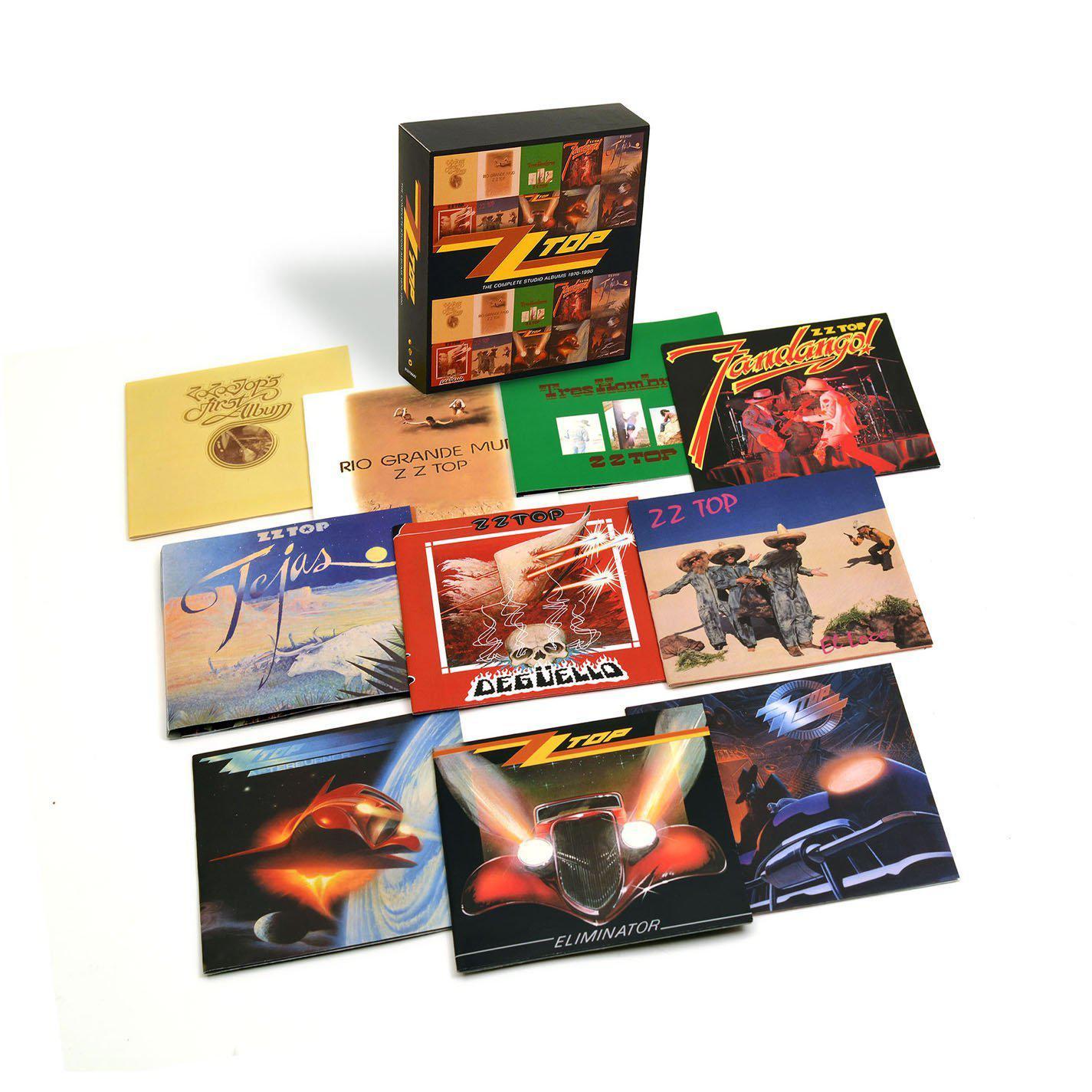 Coffret ZZ TOP : The Complete Studio Albums 1970-1990 (10 CD)