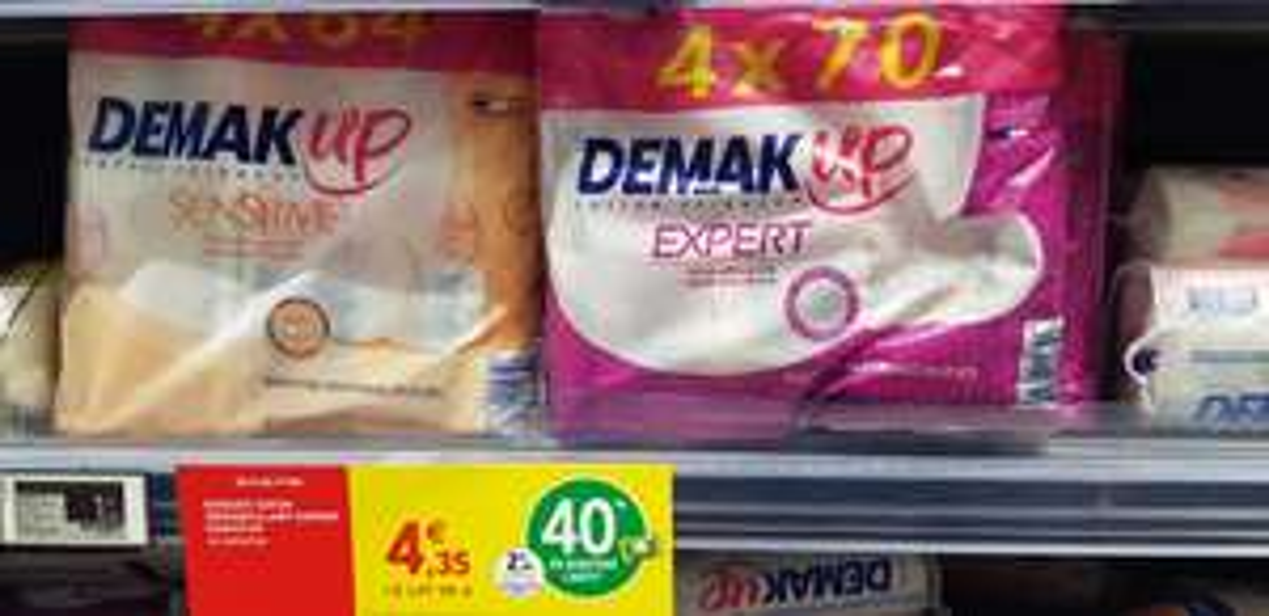 Lot de 4 Packs de disques Coton démaquillant Demak'up Expert ou Sensitive (via 1.74€ Carte Fidelité) - Lamorlaye (60)