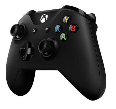 Manette sans-fil Microsoft Xbox One - Noir (+ 1.9€ en SuperPoints)