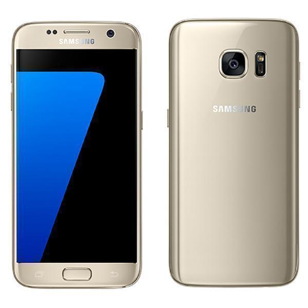 """Smartphone 5.1"""" Samsung Galaxy S7 (QHD, Exynos 8890, 4 Go de RAM, 32 Go, or) - reconditionné état Shiny comme neuf (frais de port inclus)"""