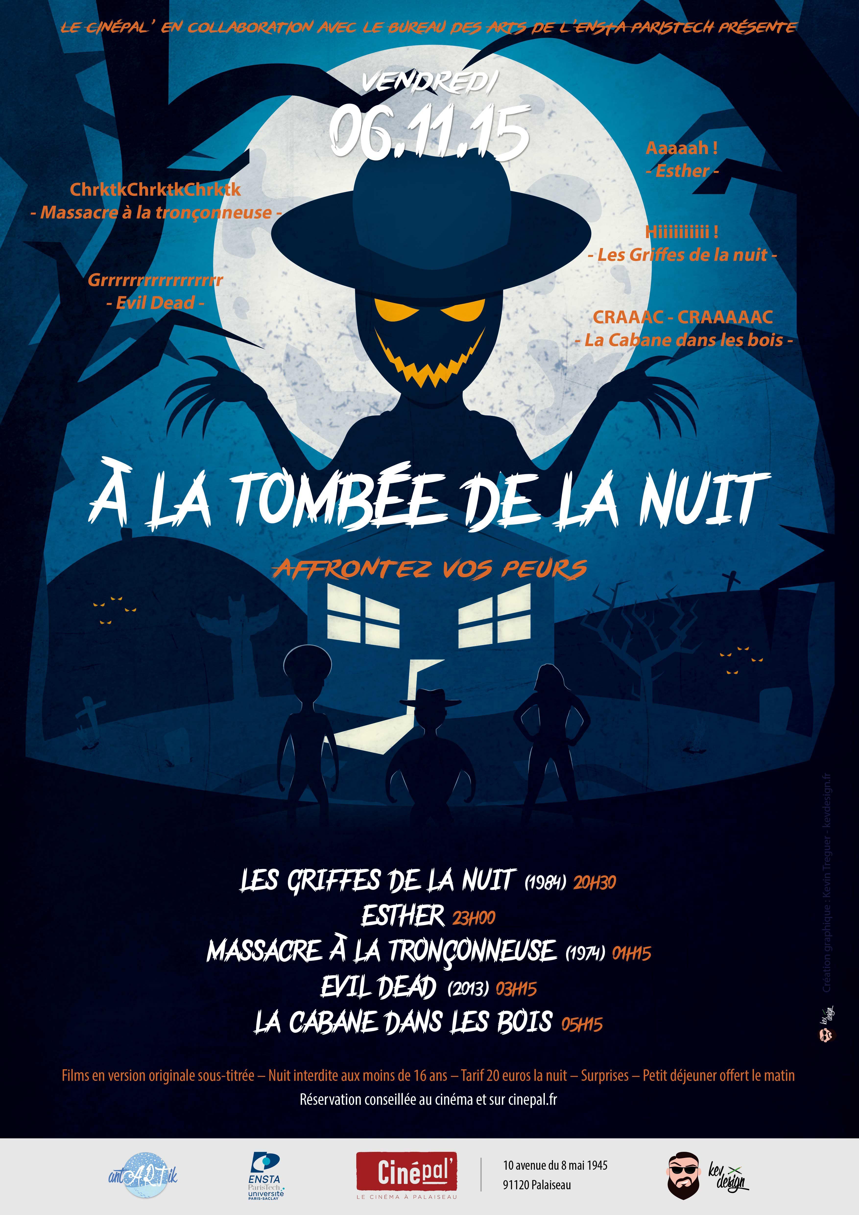 Ile de France : Soirée horreur cinéma