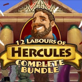12 Labours of Hercules Complete Bundle: 8 jeux sur PC (Dématérialisé - Steam)