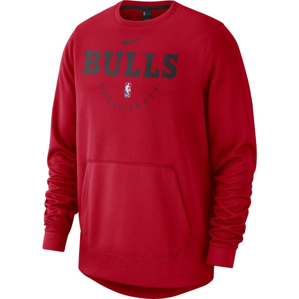 Sélection de Sweatshirts de Basketball Nike NBA en Promotion - Ex: Chicago Bulls Spotlight (Tailles au choix)