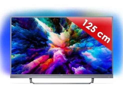 "TV 49"" Philips 49PUS7503 - 4K UHD, WiFi, HDR, Ambilight (Vendeur tiers)"