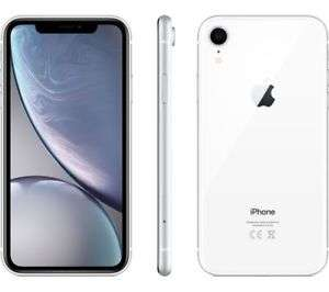 "Smartphone 6.1"" Apple iPhone Xr - Ecran LCD, A12, 3 Go de RAM, 128 Go, blanc"
