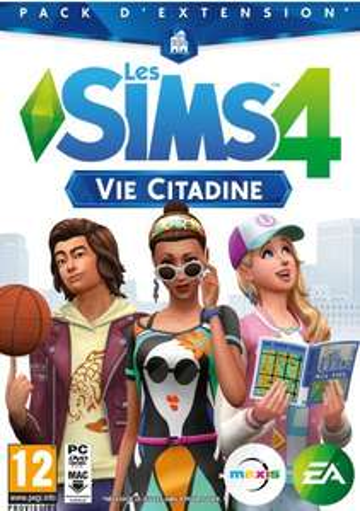 Sélection d'extensions Les Sims 4 en promotion - Ex : Vie Citadine sur PC