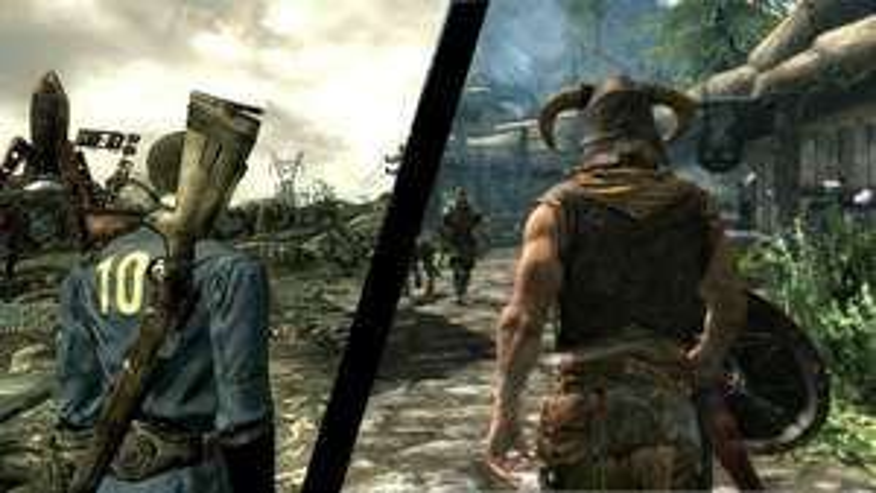 Bundle Fallout 4 + The Elder Scrolls V Skyrim Legendary Edition sur PC (Dématérialisé - Steam)