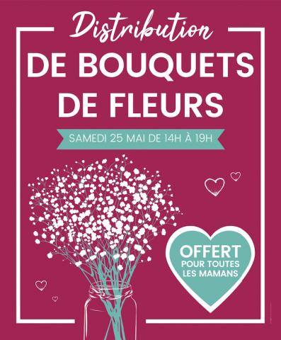 [Pour les femmes] Distribution gratuite de bouquets de fleurs - Rive Droite Lormont (33)