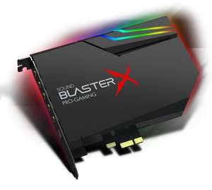 Carte Son Sound Blasterx AE 5 - RGB