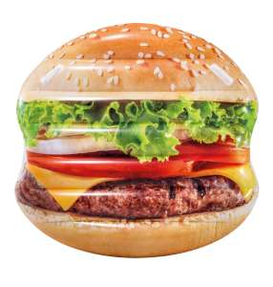 Jusqu'à 31% de réduction sur une sélection de produits - Ex: Matelas Gonflable Intex motif Hamburger (cash-piscines.com)