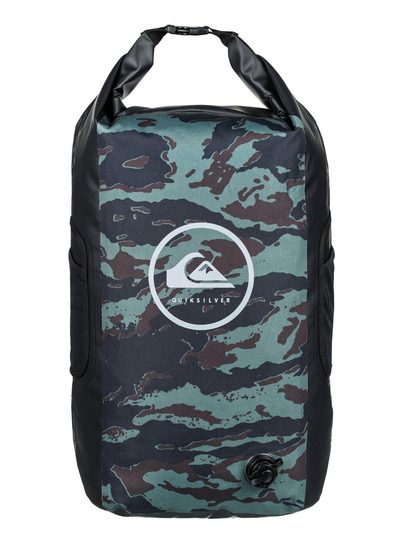 Grand sac de surf roll-top Quiksilver Sea Stash - 35L, étanche