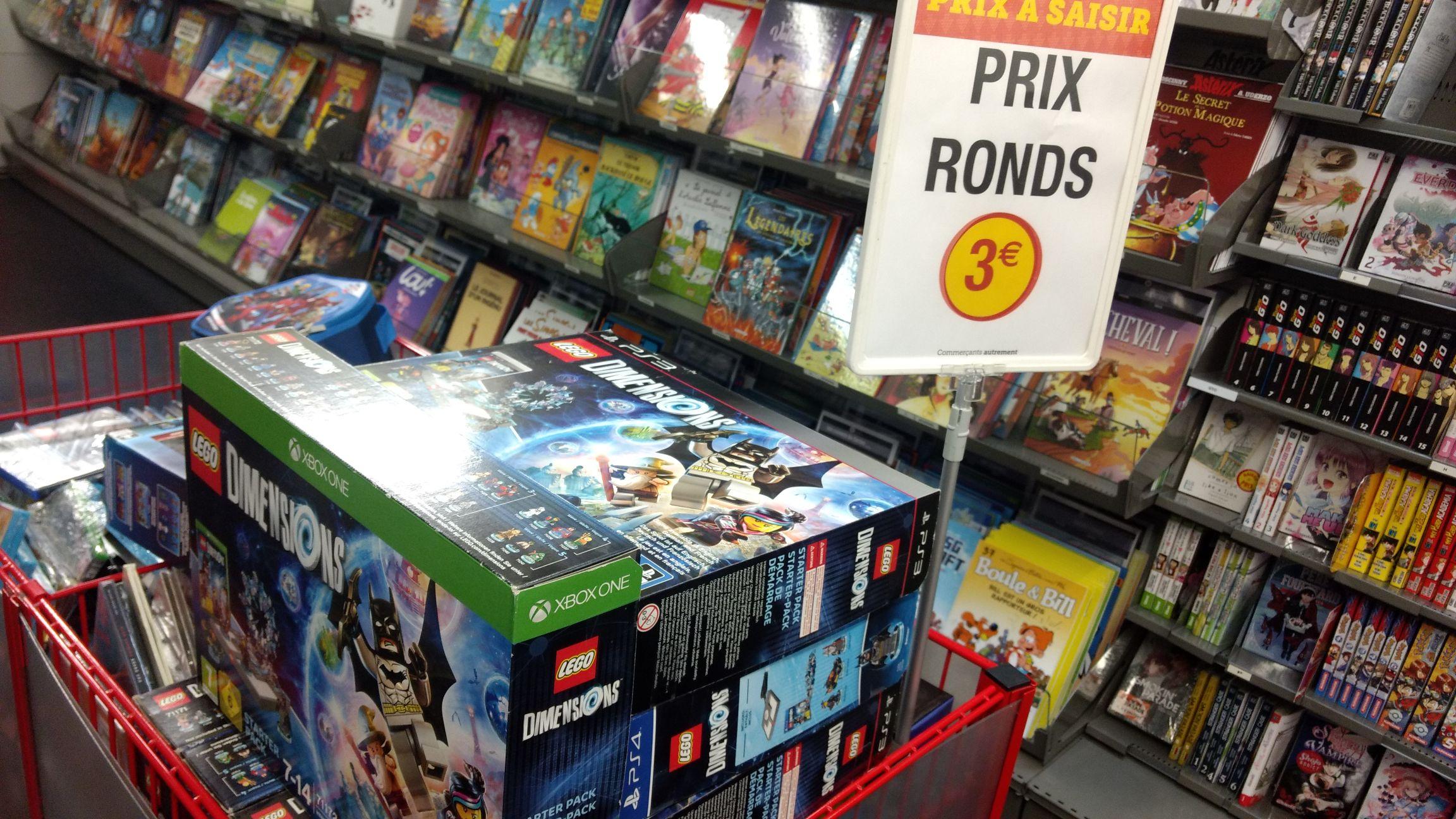 Lego Dimensions sur Xbox One, PS4 ou PS3 -  Hyper U Limoges Corniac (87)