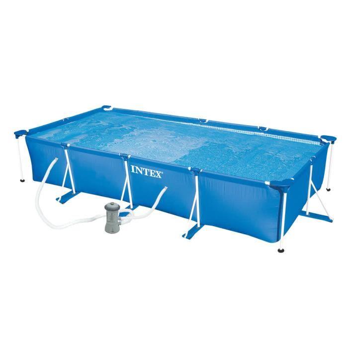 Kit Piscine Intex rectangulaire - 450x220x84cm