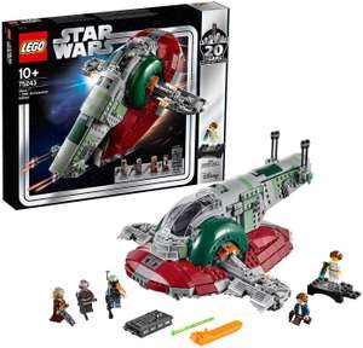 Jeu de construction Lego Star Wars - Slave I - 20 Years (75243)