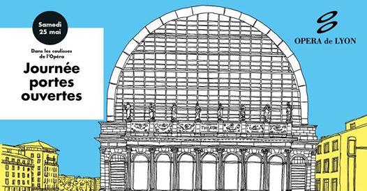 Visite gratuite de l'Opéra de Lyon (Ateliers, visites, concerts, projections..) - Lyon (69)