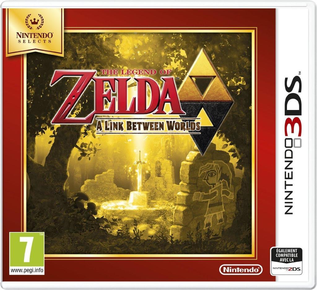 Sélection de jeux 3DS en promotion - Ex : The Legend of Zelda : A Link Between Worlds