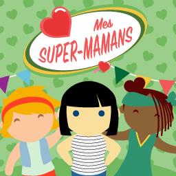 """Jeu audio """"Album d'histoires Lunii : Mes Super-Mamans"""" (lunii.fr)"""