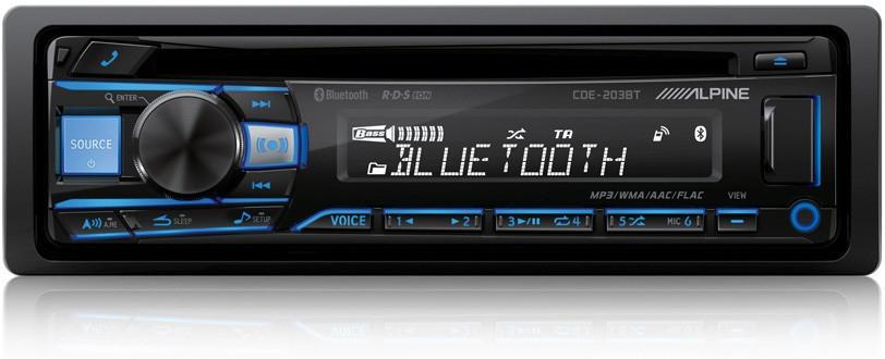 Auto-radio Alpine CD 203 BT - Bluetooth