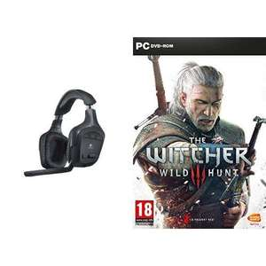 Casque gaming Logitech G930 + The Witcher 3 sur PC