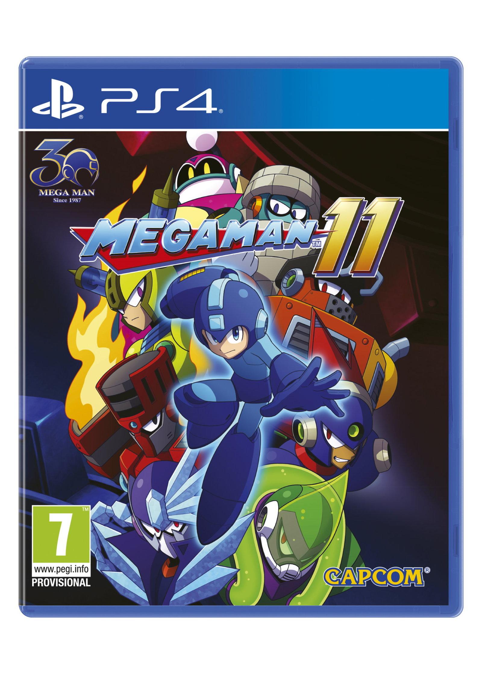 Megaman 11 sur PS4