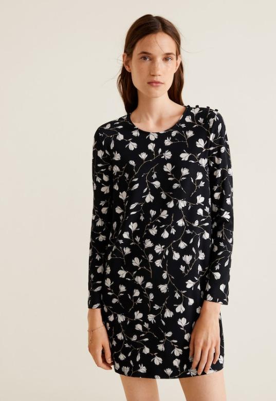 30% de réduction supplémentaires sur les Robes et les Combinaisons de l'Outlet - Ex : Robe à boutons à 6,99€ (Tailles du XS au XL)
