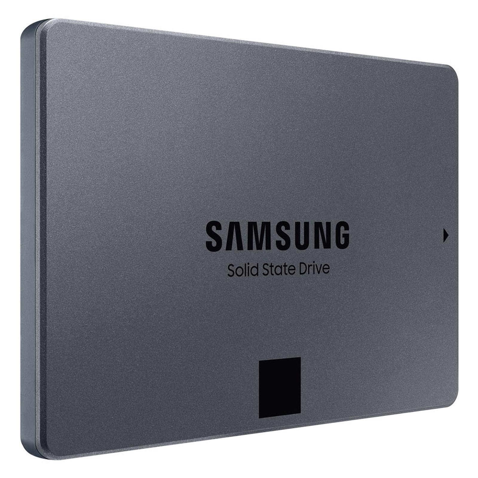 "SSD interne 2.5"" Samsung Série 860 QVO (MZ-76Q1T0BW) - 1 To, SATA III (+5€ en SuperPoints)"