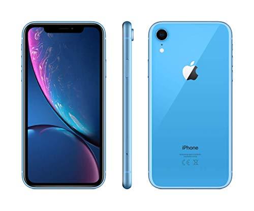 """Smartphone 6.1"""" Apple iPhone Xr - HD+, A12, 3 Go de RAM, 128 Go, Bleu"""