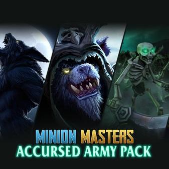 DLC Minion Masters - Accursed Army Pack Gratuit sur PC et Xbox One (Dématérialisé)