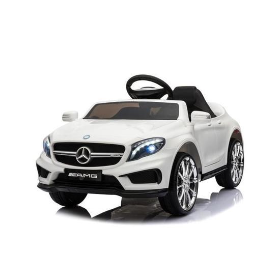 Voiture électrique Mercedes AMG GLA 45 pour Enfant - Blanc ou Noir