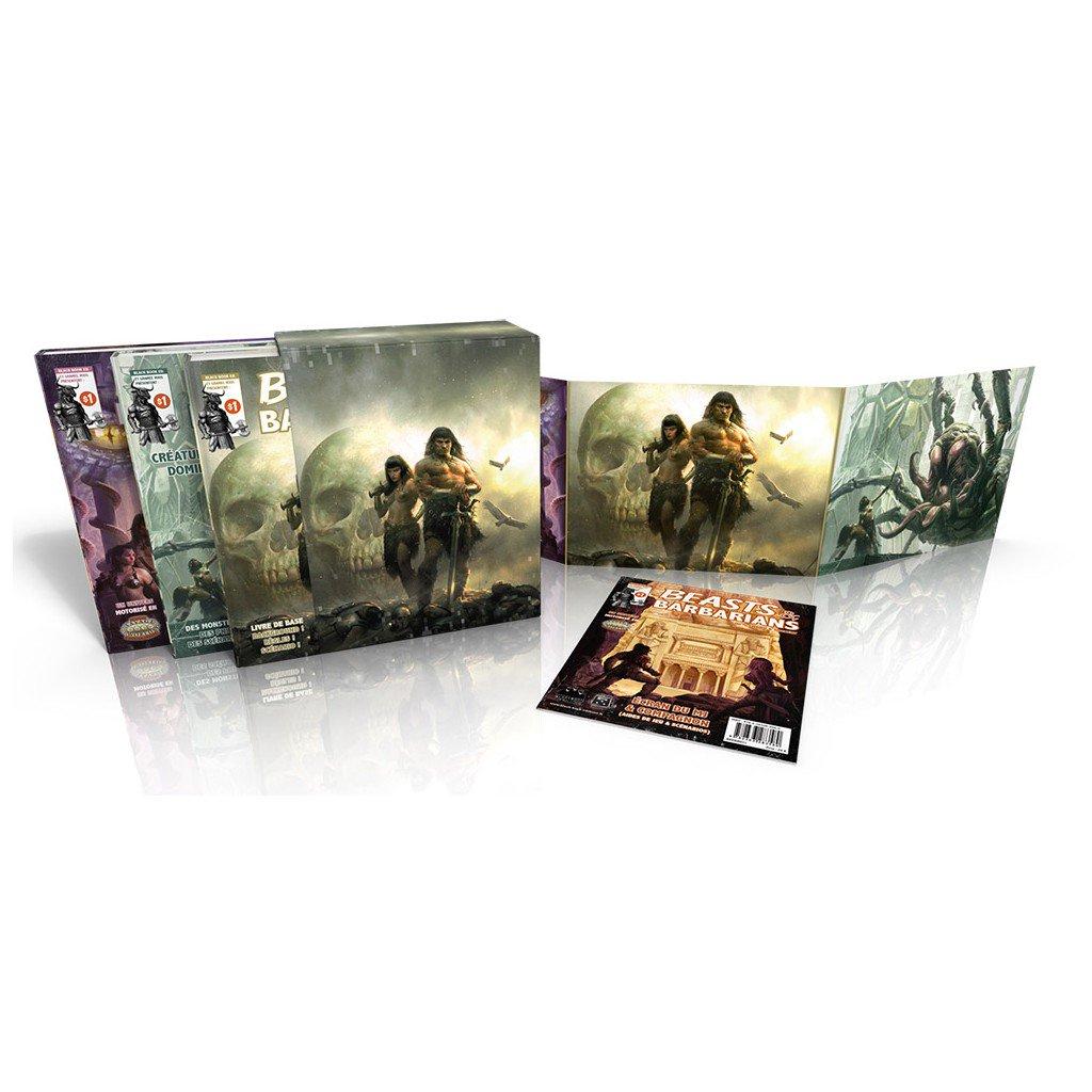 50% de réduction sur une sélection de jeux de rôle - Ex  : coffret complet Black Book Beasts & Barbarians