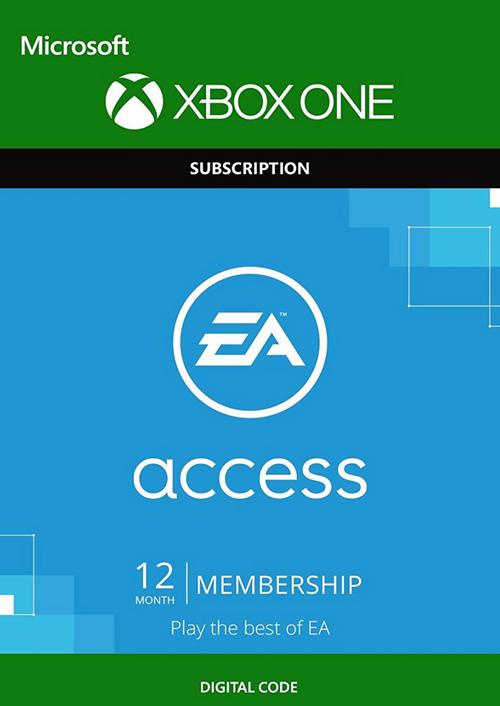 Abonnement de 12 mois au service EA Access sur Xbox One (dématérialisé)