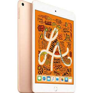 "Tablette tactile 7.9"" Apple iPad mini 5 - full HD, A12, 3 Go de RAM, 64 Go, Wi-Fi, différents coloris (322.15€ avec le code PLUGIN15)"