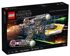 Jeu de construction Lego Star Wars Y-Wing Starfighter Ultimate Collector Series n°75181