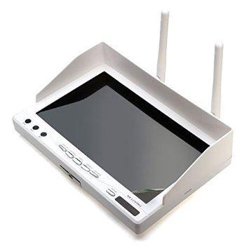 """Ecran 7"""" FPV Boscam RX-LCD5802 avec récepteur Diversité 5.8ghz 32ch intégré"""