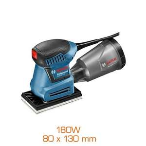 Ponceuse vibrante Bosch Professional GSS 160-1 A - 180W, plateau 80 x 130 mm