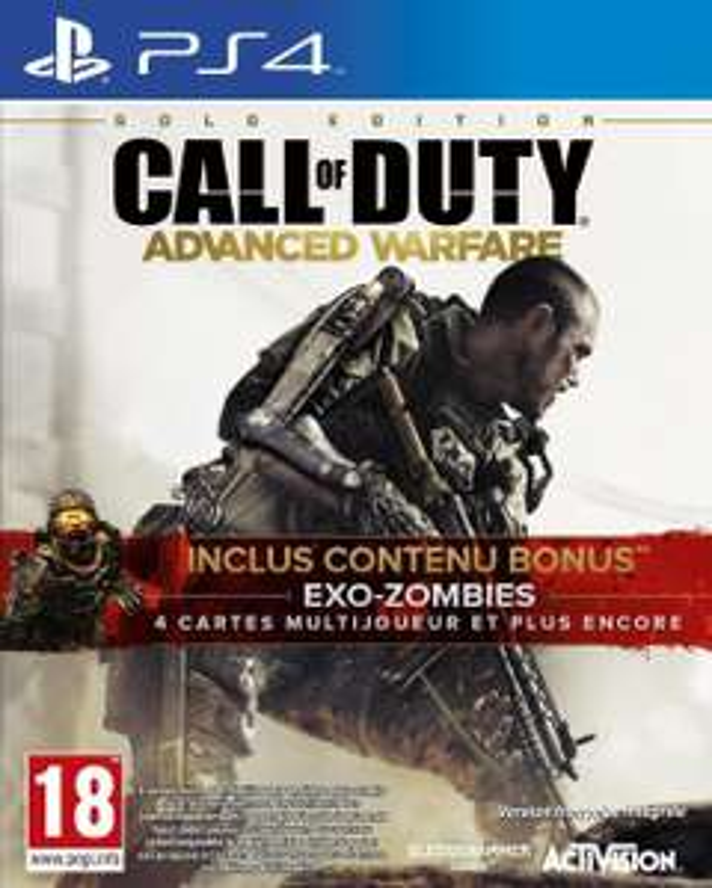 Call of Duty : Advanced Warfare - Edition Gold sur PS4
