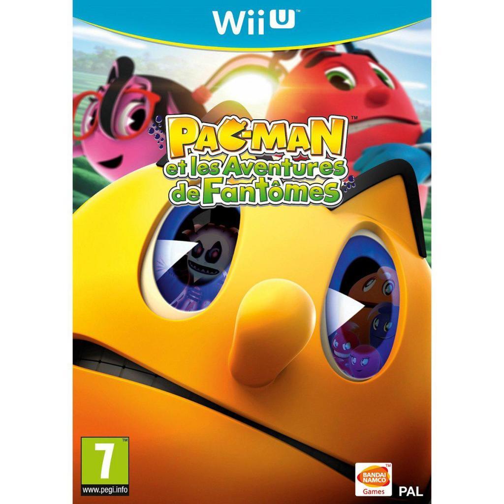 Jusque 80% de réduction sur les jeux Bandai Namco - Ex : Pac-Man et les aventures de fantômes sur Wii U