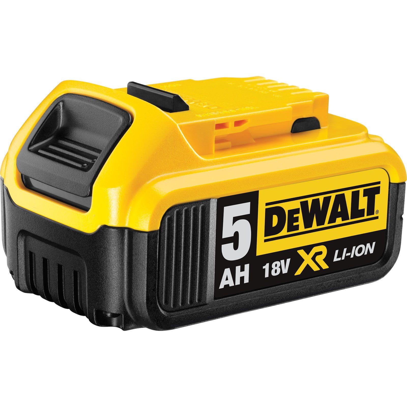 Batterie DeWalt DCB184 XR Li-Ion - 5.0Ah, 18V