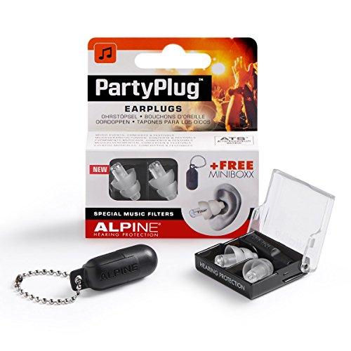 Bouchon d'oreilles filtrants pour Concert/Sortie Alpine PartyPlug 2015 - Transparent