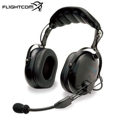 Casque avion Flightcom 4 DLX