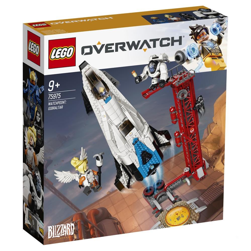 Jeu de construction Lego Overwatch Observatoire : Gibraltar n°75975
