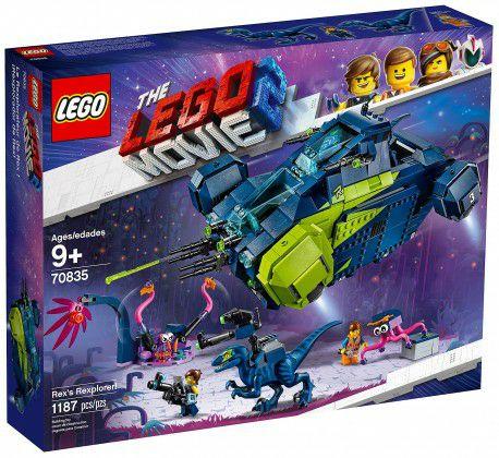 Jeu de construction Lego The Lego Movie 2 : Le Rexplorer de Rex La Grande Aventure Lego 2 (70835)