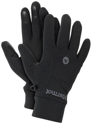 Paire de Gants Polaires Marmot Power Stretch Glove - Noirs