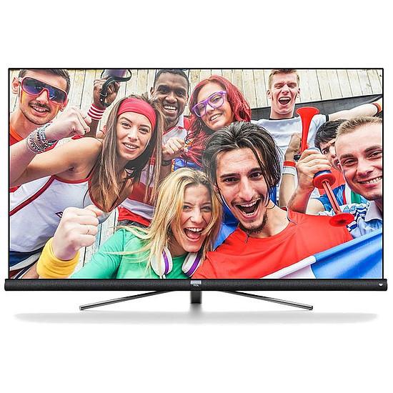 "TV 65"" TCL 65DC760 avec Barre de son JBL intégrée - LED, 4K UHD, HDR 10, Dalle VA, Android TV (Via ODR de 400€)"