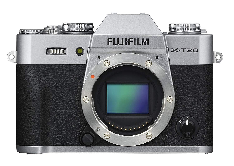 Appareil photo Fujifilm XT20 (Boitier Nu) - Noir ou Argent