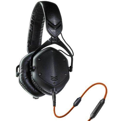 Casque audio V-Moda Crossfade M-100 - isolation acoustique, pliable, avec micro, noir