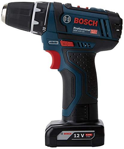 Perceuse visseuse Bosch Professionnal GSR 12V-15 + 2 Batteries 2Ah et 4Ah