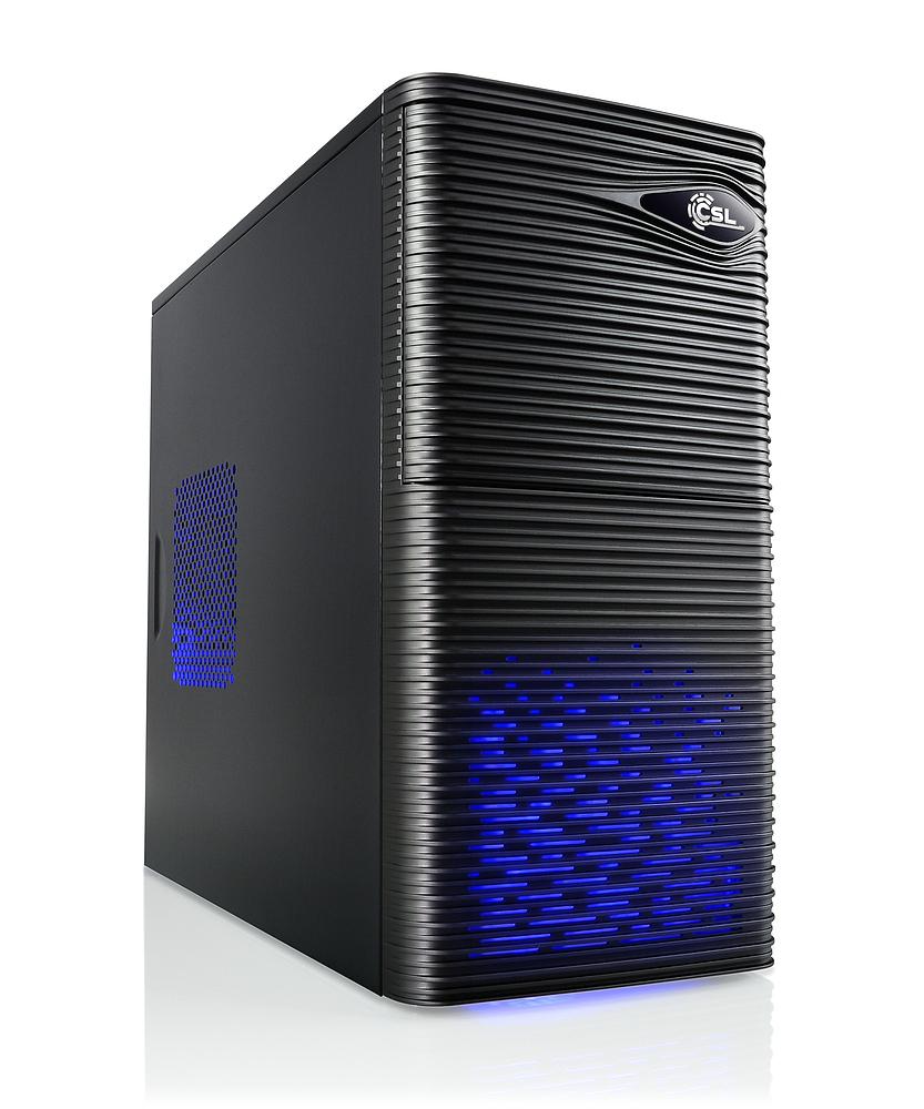 Tour pc fixe CSL Sprint 5880 (Ryzen 5 2600, GTX 1060 6Go, SSD 240 Go, 8 Go de RAM)